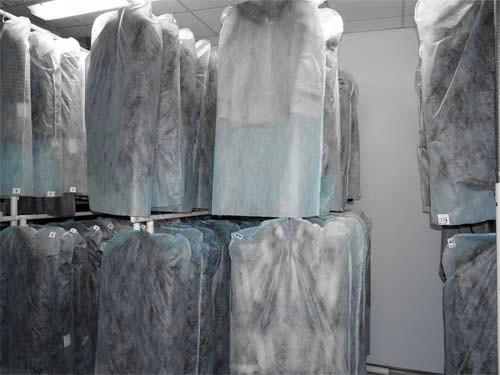 Хранение меха, шуб и меховых изделий
