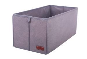 Ящик-органайзер для хранения вещей S — Цвет серый