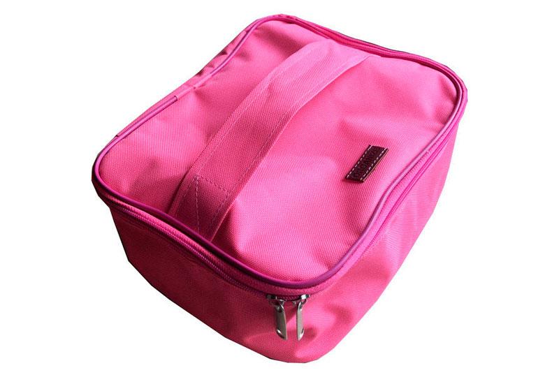 Косметичка со съемными перегородками - Цвет розовый