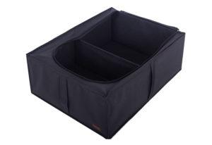 Короб для хранения вещей со съемной перегородкой - Цвет черный